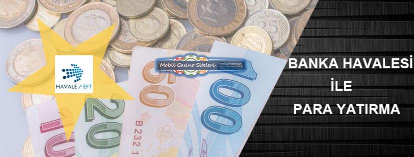 Casino Siteleri Banka Havalesi Para Yatırma