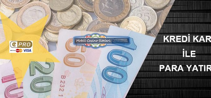 Casino Sitesi Kredi Kartı Para Yatırma