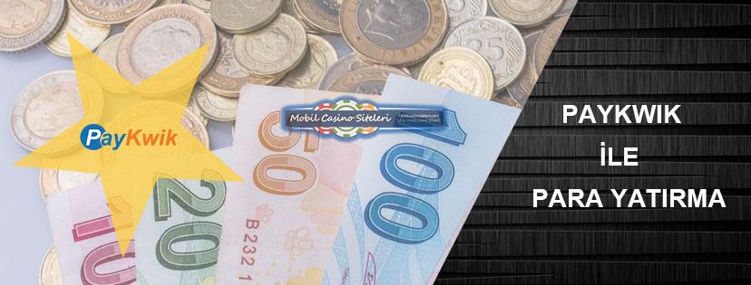 Casino Siteleri Paykwik Para Yatırma