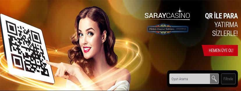 Saraycasino Casino QR Kod Bonusu Verecek